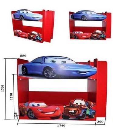 Кровать двухъярусная Драйв 2 80х170, фото 2