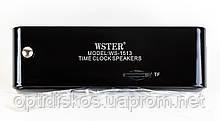 Портативная колонка WS-1513 (Часы, USB, micro sd, FM), фото 3