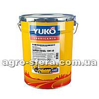 Масло моторное Юкойл SUPER DIESEL 15W-40 (20 л.) минеральное YUKOIL