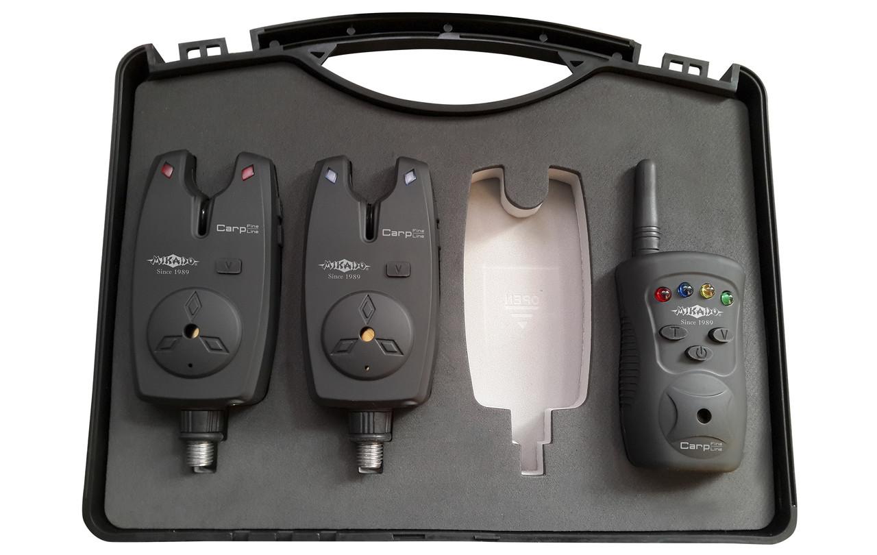 Набор электронных сигнализаторов поклёвки Mikado AMS01-SG-T2
