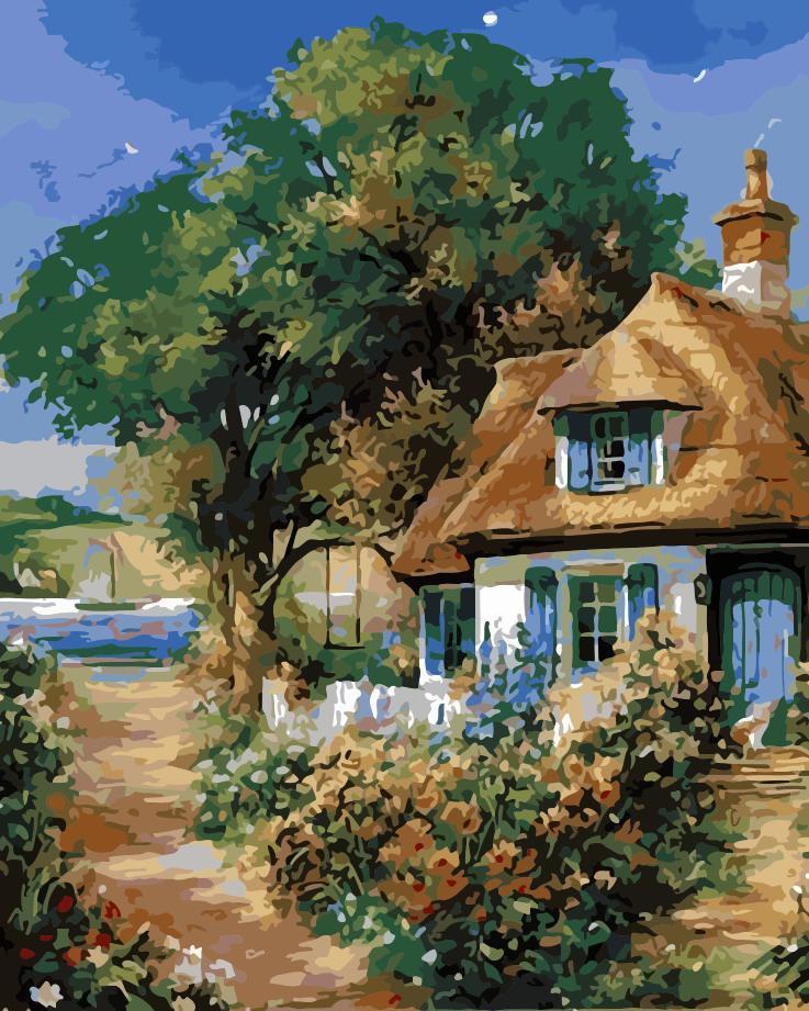 Рисование по номерам Милый дом ArtStory AS0158 40 х 50 см