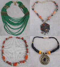 Колье, бусы, ожерелья
