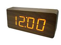 Электронные часы LED Wooden Clock VST-865