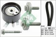 Комплект ремня ГРМ (ремень+ролик) 1,5DCI Duster/Logan/Kangoo/Clio INA 530 0197 10