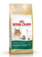Корм Royal Canin (Роял Канин) MAINE COON ADULT для кошек породы мейн-кун в возрасте старше 15 месяцев  2 кг