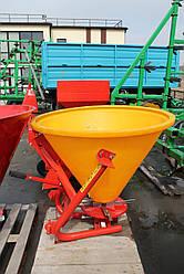 Разбрасыватель минеральных удобрений 500л (пластмассовый)