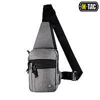 Сумка-кобура на плече Melange grey M-TAC