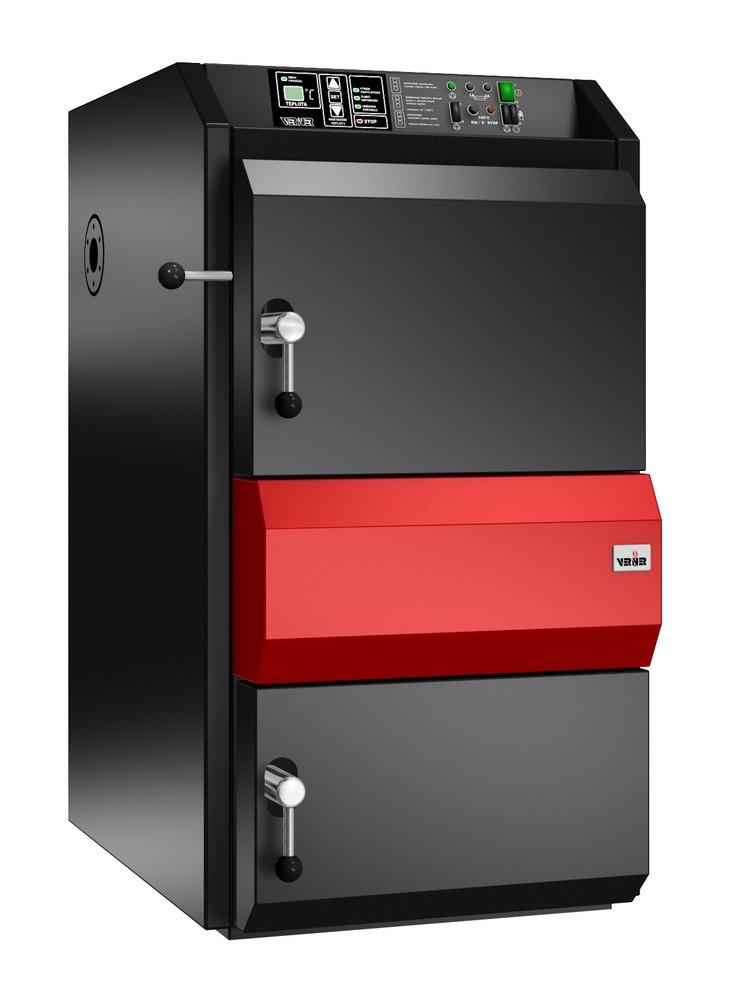 Пиролизные котлы на твердом топливе с газификацией древесины Verner V45 (Вернер)