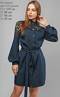 Повседневное платье полуприлегающего силуэта 44-48р