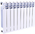 Радиатор биметаллический BITHERM 500x100, фото 1