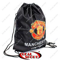 Рюкзак-мешок GA-1914 Manchester (PL, р-р 40х50см, черный)