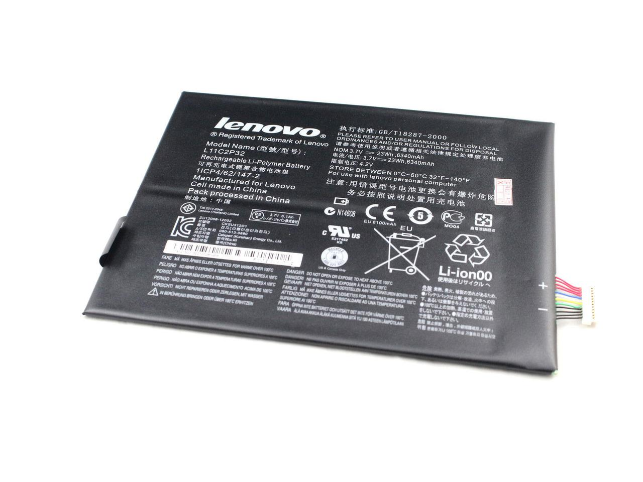 Аккумулятор к планшету Lenovo L11C2P32/L12D2P31 6100mAh