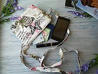 Детская сумочка фиолетовые бабочки
