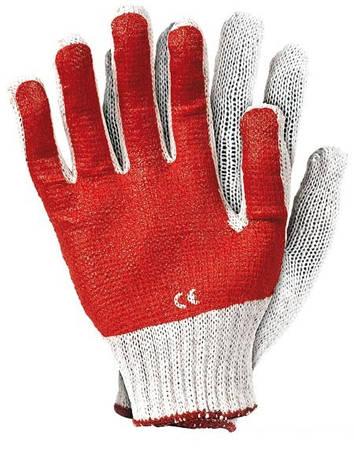Перчатки рабочие покрытые гладким латексом RR-C, фото 2