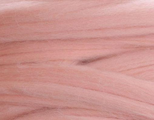 100% шерсть. 25мкрн. Цвет: св.розовый. 249 г. 2 см.