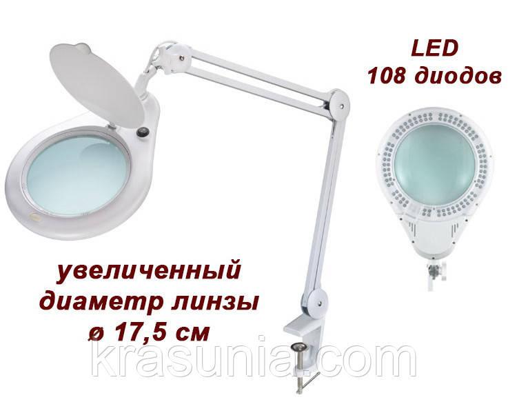 Лампа-лупа 8062 на 3 и 5 диопртии