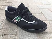 Кроссовки мужские на шнуровке черные Paolla, фото 1