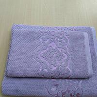 Набор полотенец сауна NADIR фиолет