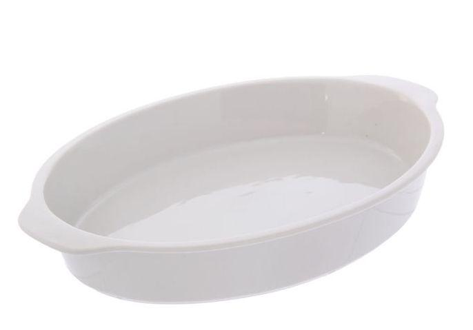 Лоток для запекания белый 2600мл 4с0035 Добруш