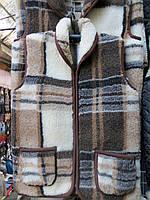 Качественная жилетка зимняя на овчине (№5)