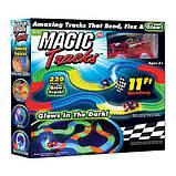 Гоночный трек конструктор Magic Tracks 220 деталей, фото 2