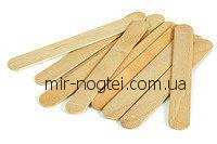 Шпатель деревянный для нанесения воска 50 шт/уп., фото 1
