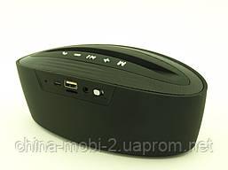 Atlanfa AT-7755, портативна колонка-підставка 5W з Bluetooth FM MP3, чорна, фото 2