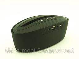 Atlanfa AT-7755, портативна колонка-підставка 5W з Bluetooth FM MP3, чорна, фото 3