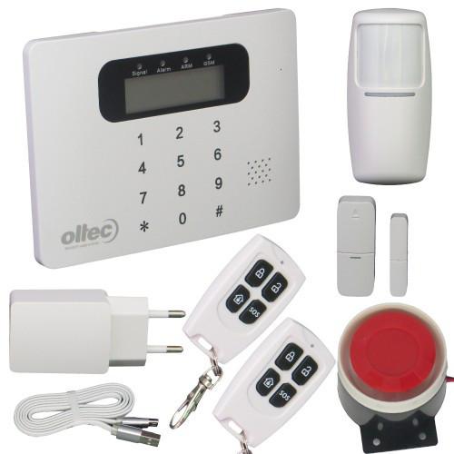 Комплект беспроводной GSM сигнализации Oltec GSM-Kit-30 (433 МГц)