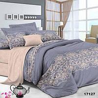 Евро макси набор постельного белья 200*220 из Ранфорса №17127 Viluta™