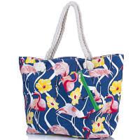 Пляжная сумка Famo Женская пляжная тканевая сумка FAMO (ФАМО) DC1801-01
