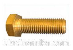 Болт латунный М6 DIN 933, фото 2
