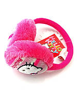 Розовые наушники для девочки с Hello Kitty