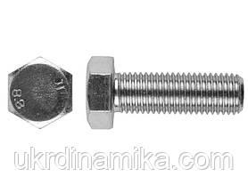 Болт М12*40 DIN 933 5.8 оцинкованный, полная резьба, фото 3
