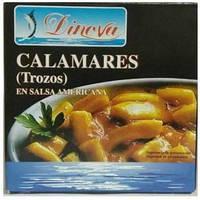 Кальмары Dinova Calamares в соусе сальса 168 г