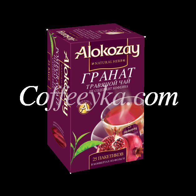 Чай травяной Alokozay Гранат 25*2 г ф/п