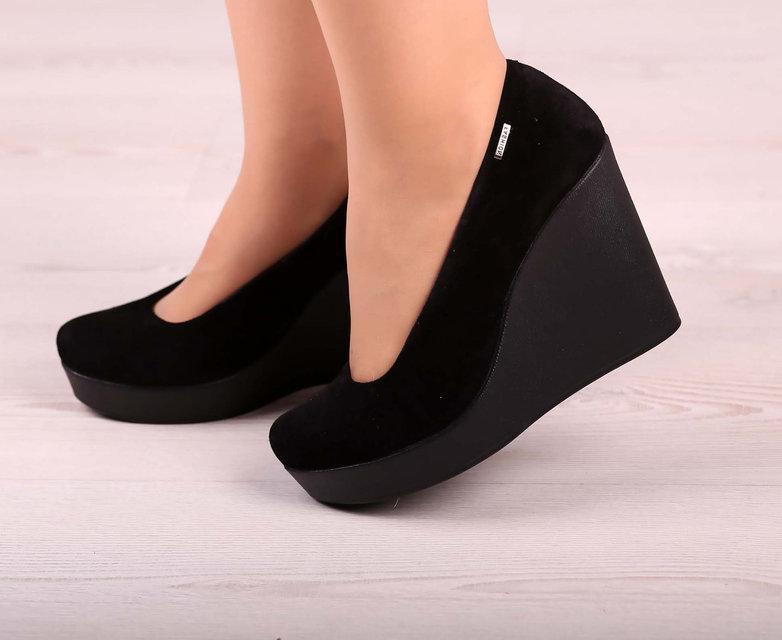 347984339 Женские туфли на платформе кожаные и замшевые, цена 880 грн., купить ...