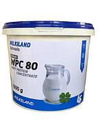 Протеин Ostrowia WPC 80 Milkiland Ведро 1500 грамм Польша Вкус Шоколад