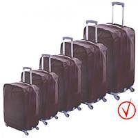 Чехол на чемодан бордовый 24 ( защитный чехол для чемодана )
