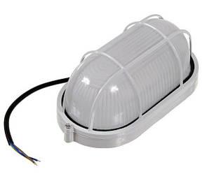 Світлодіодний світильник для ЖКГ антивандальний 12V SL1402L 6W овал. білий IP54 Код.59239