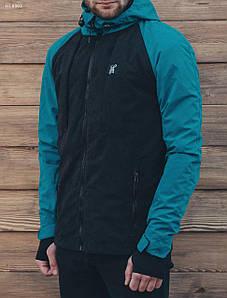 Мужская демисезонная куртка Staff Elies blue and black HE0003