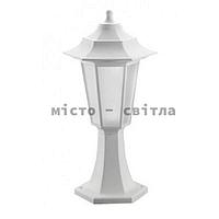Светильник садово-парковый Begonya-1 IP44 белый Е27 столб