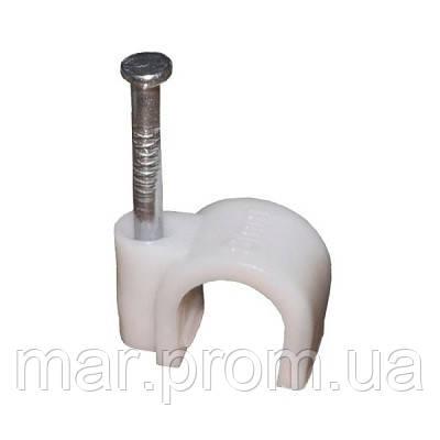 Скобы для крепления кабеля, 7 мм