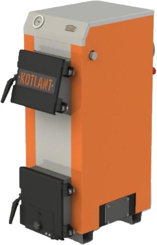 Стальной  котел на твердом топливе Kotlant  (Котлант) KН 12,5