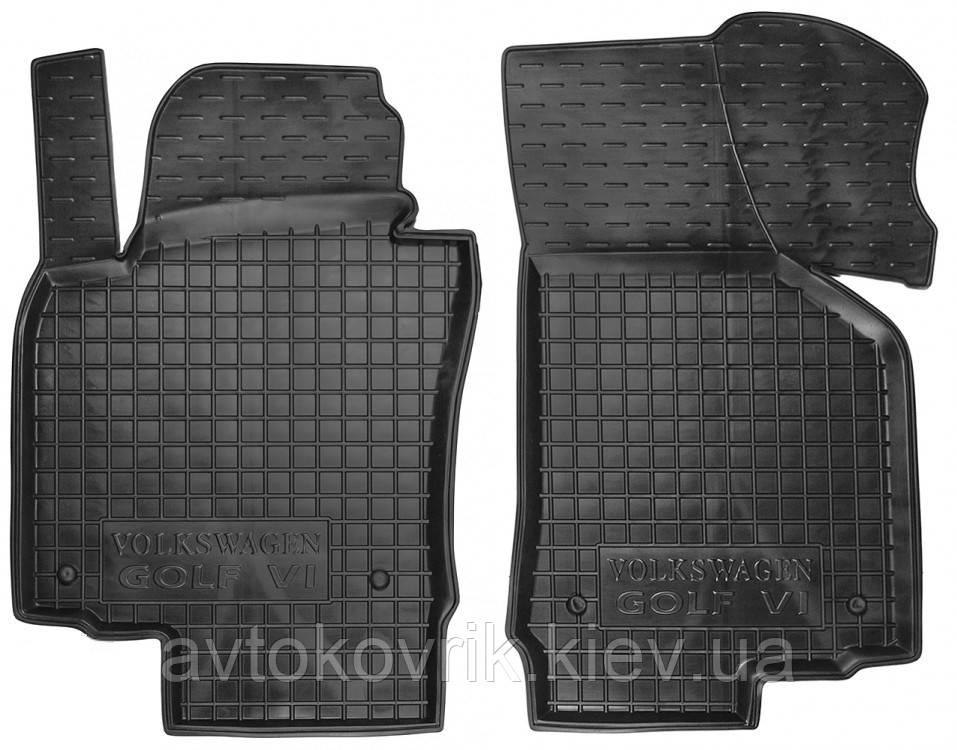 Полиуретановые передние коврики в салон Volkswagen Golf V 2003-2008 (AVTO-GUMM)