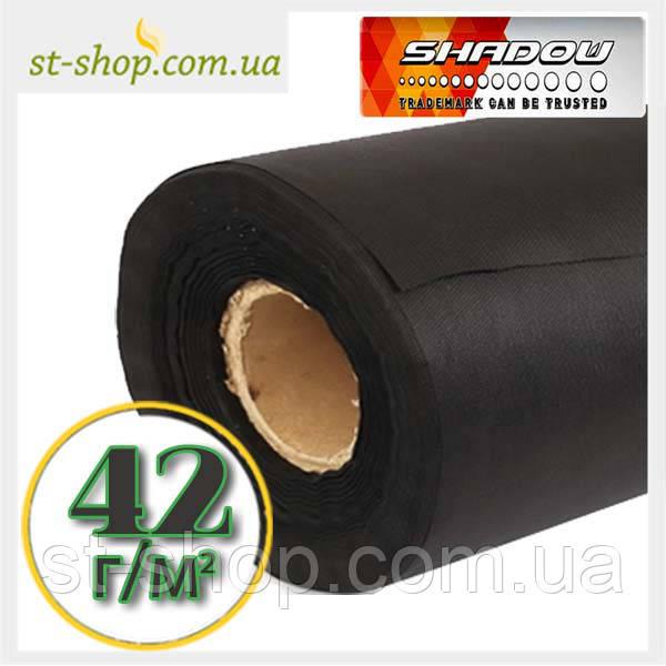 """Агроволокно """"SHADOW"""" плотностью 42г/м2 (3,2*100м черное)"""