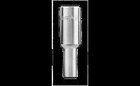 "Торц. 6-гр. насадка, довга,1/2"", 13 мм, ХВ"