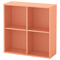 IKEA EKET Сочетание настенных шкафов, светло-оранжевый  (203.345.21), фото 1