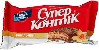 Печенье Супер Контик ванильный в молочной глазури