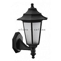 Светильник садово-парковый Begonya-2 IP44 черный Е27 настенный